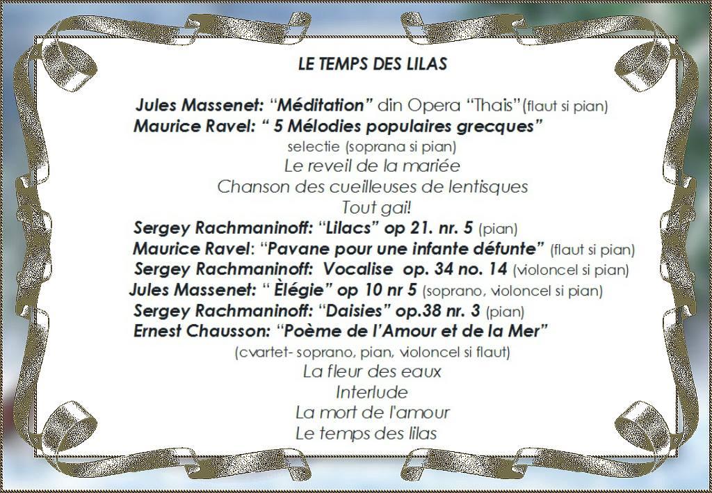 Program concert 17 iunie