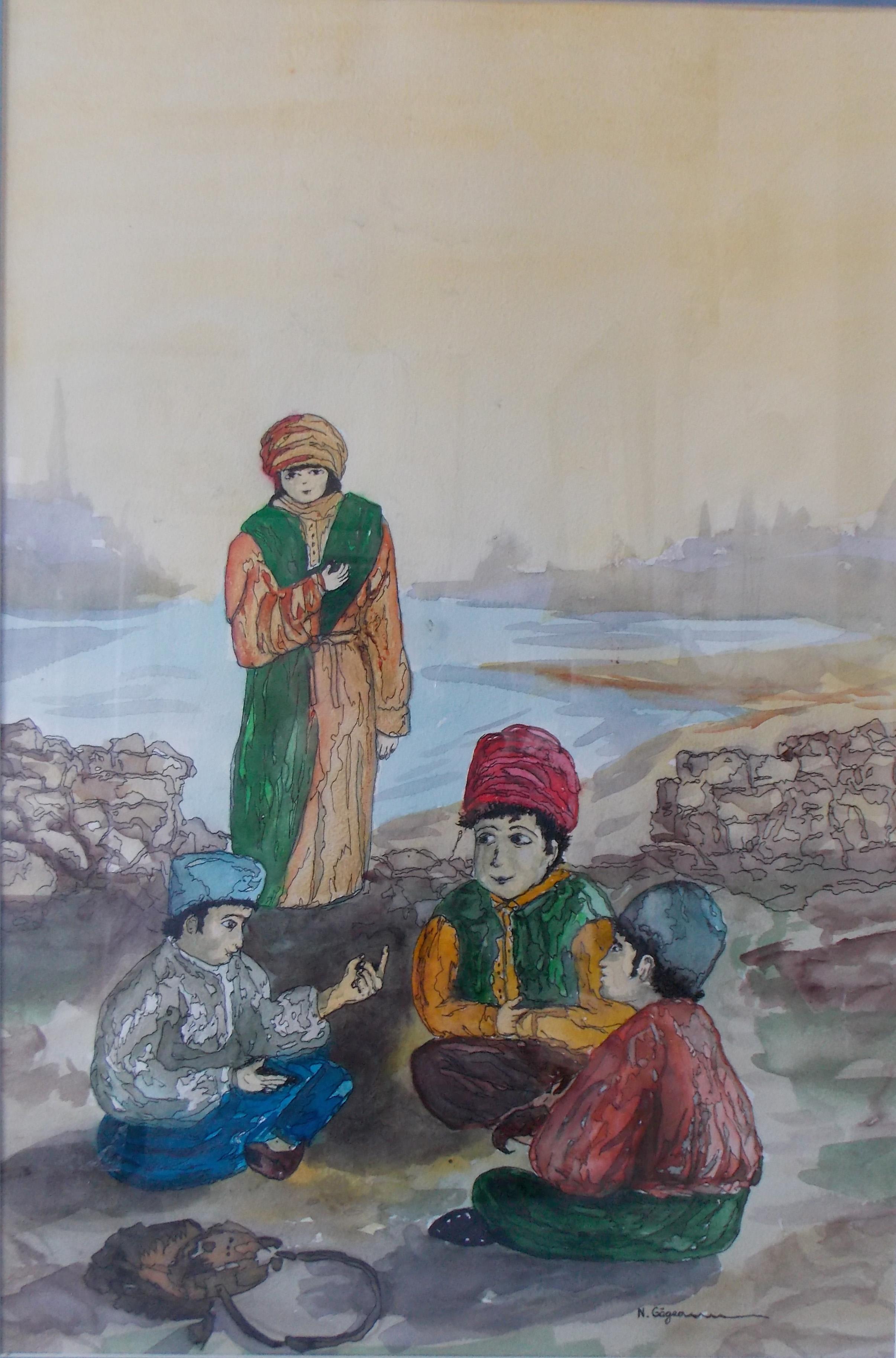 Joc de arșice la copii tătari